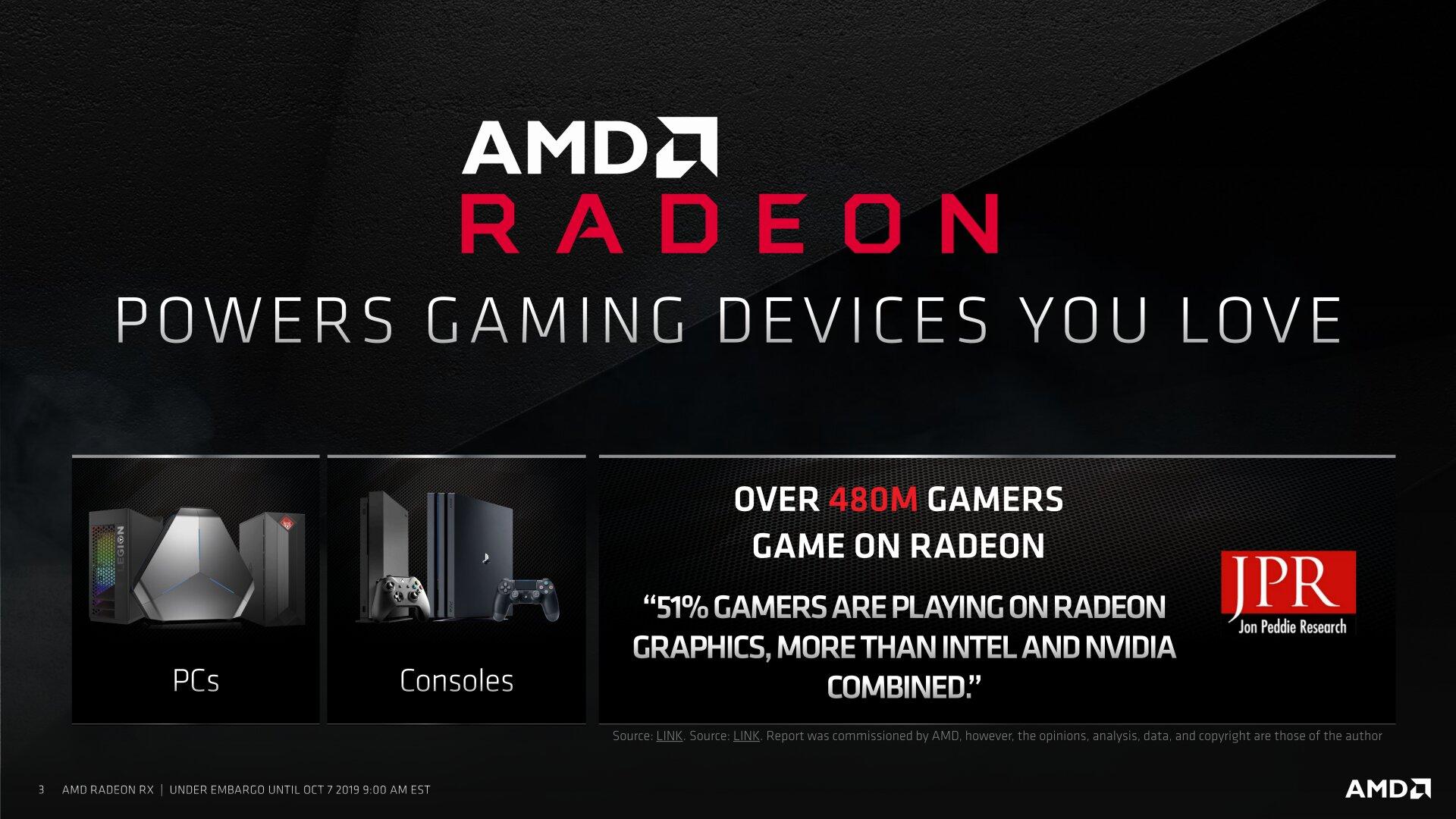 AMD Radeon RX 5500 Präsentation
