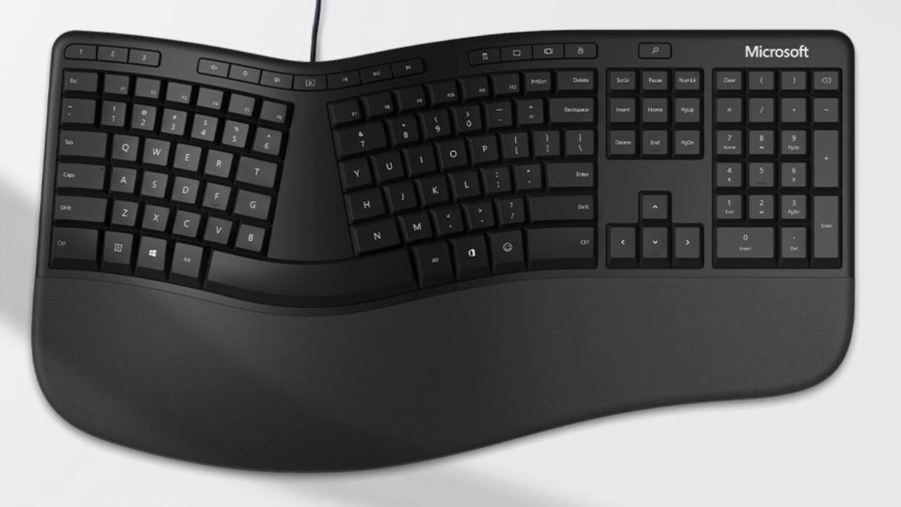Ergonomic & BT Keyboard: Microsoft baut Tastaturen mit Smilie-Shortcut