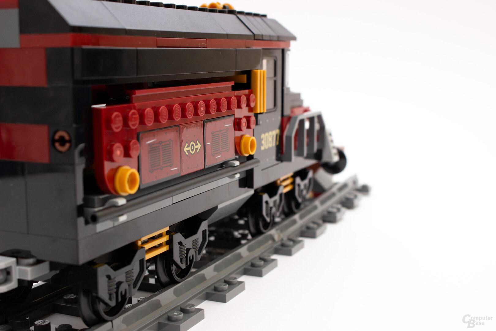 Der Geister-Express ohne ausgefahrenen Flügeln