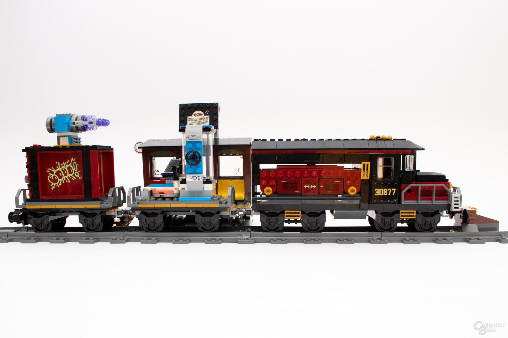 Der komplette Lego Hidden Side Geister-Express