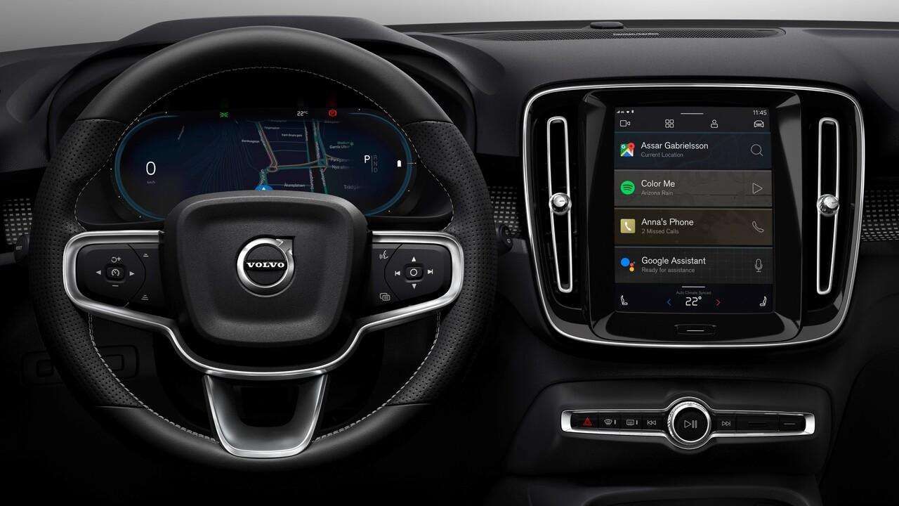 Volvo XC40: Android-Infotainmentsystem kommt für elektrisches SUV