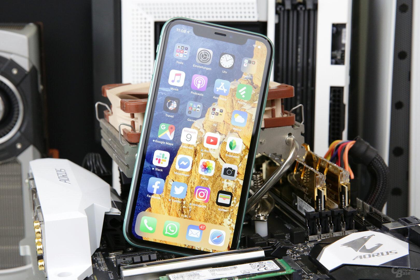 Das LCD des iPhone 11 ist gut, aber in Sachen Auflösung nur Mittelklasse