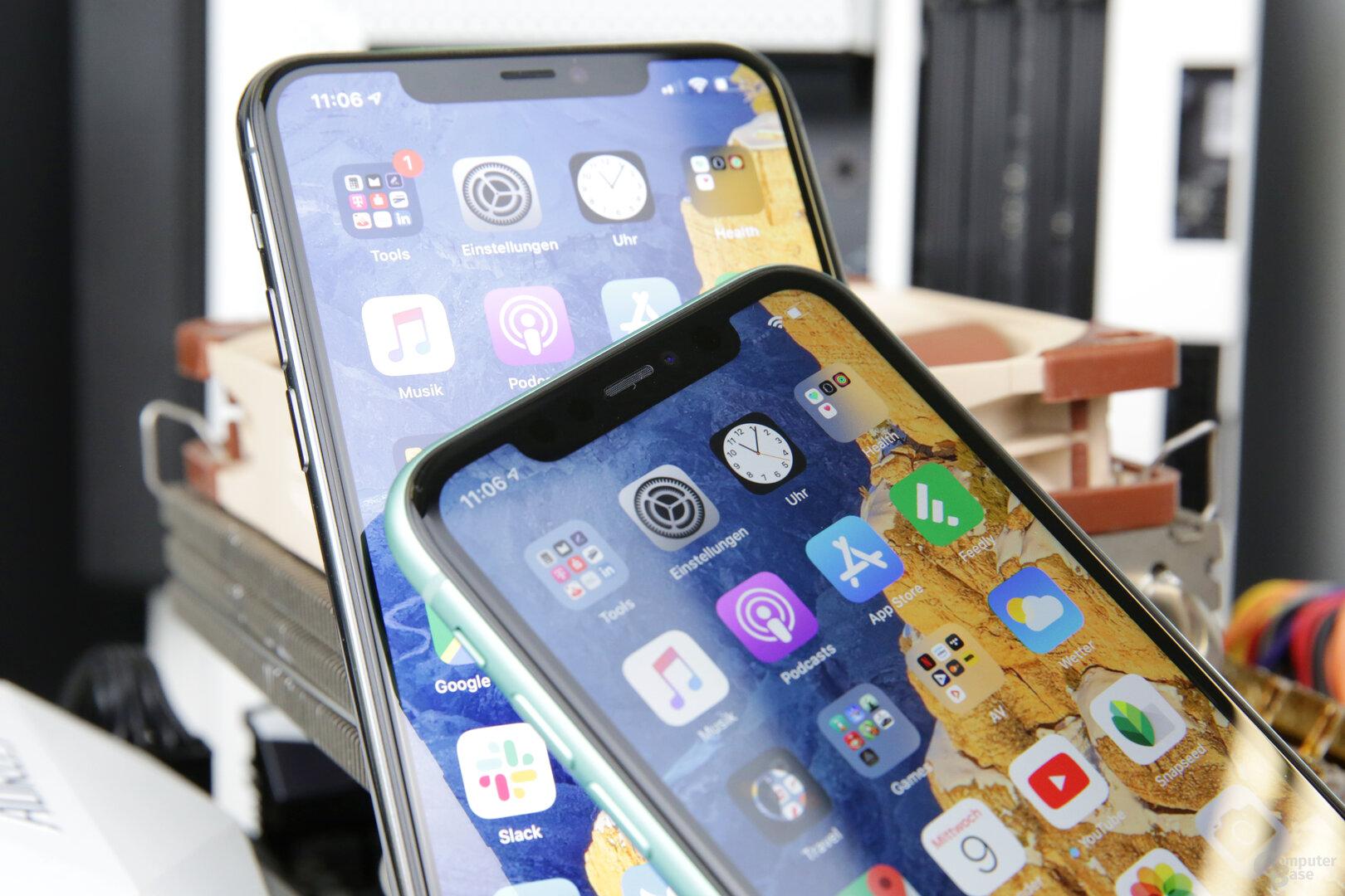 Dickere Displayränder beim LCD des iPhone 11