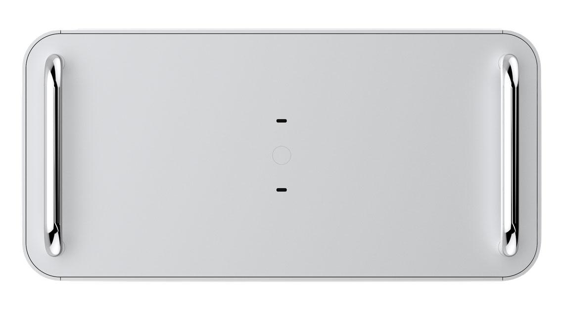 ... und zweimal USB 3.1 Typ-C im Top-Panel