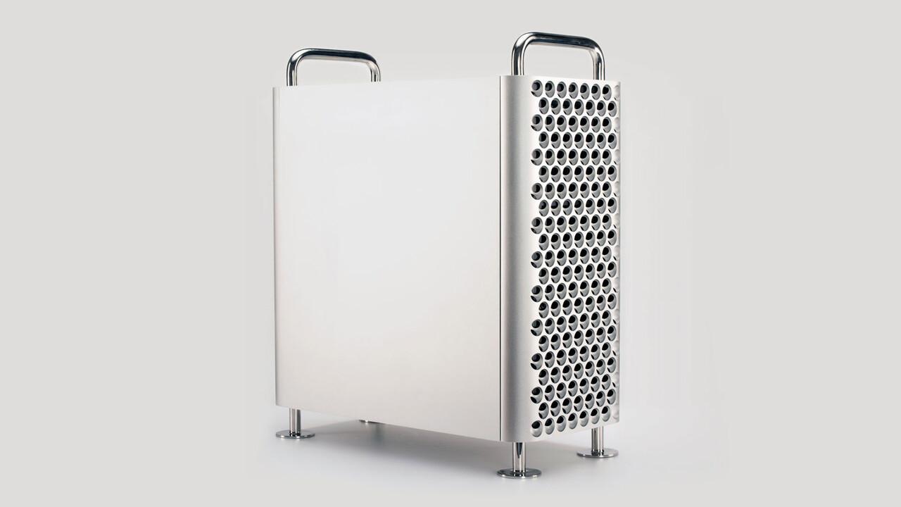 Dune Pro: Futuristisches Mac-Pro-Gehäuse für PC-Komponenten