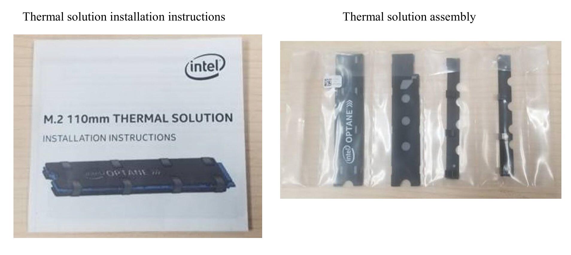 Künftig liegt der Optane SSD 905P M.2 ein Kühler bei