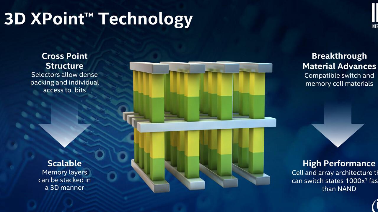 3D XPoint Gen 2: Intel verdoppelt auf vier Speicherschichten
