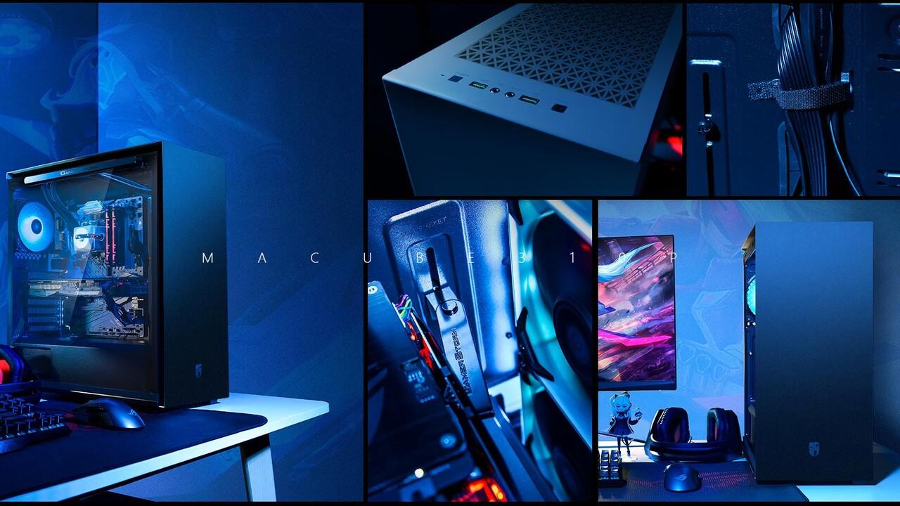 Gamer Storm Macube 310P: Minimalistischer Midi-Tower verstaut ATX-Hardware