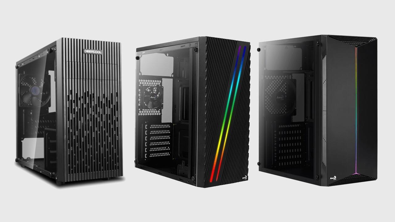 Weniger als 30 Euro: Midi-Tower mit Glas oder RGB zwingen zu Abstrichen