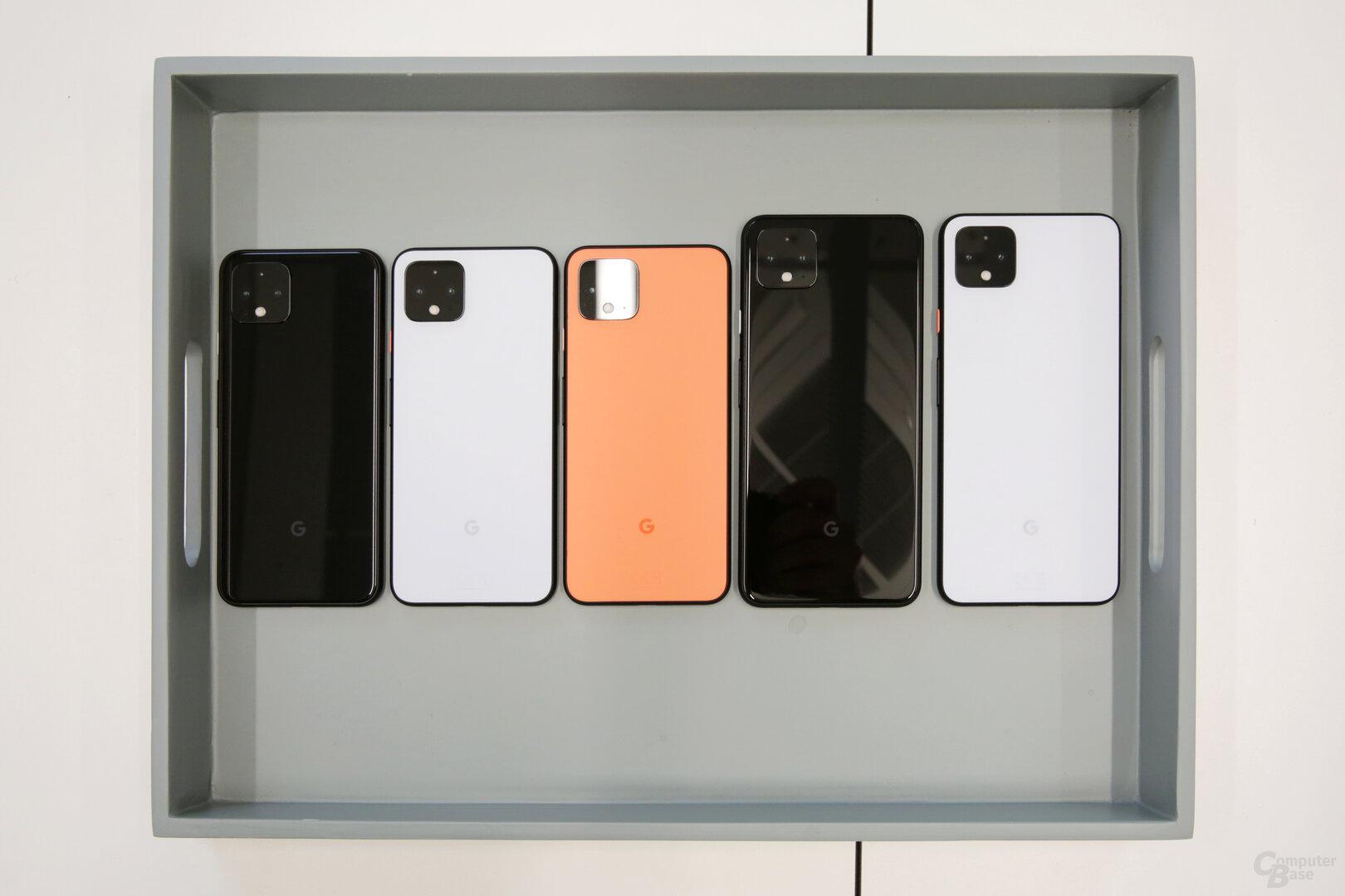 Als Farben stehen Just Black, Clearly White und Oh So Orange zur Auswahl