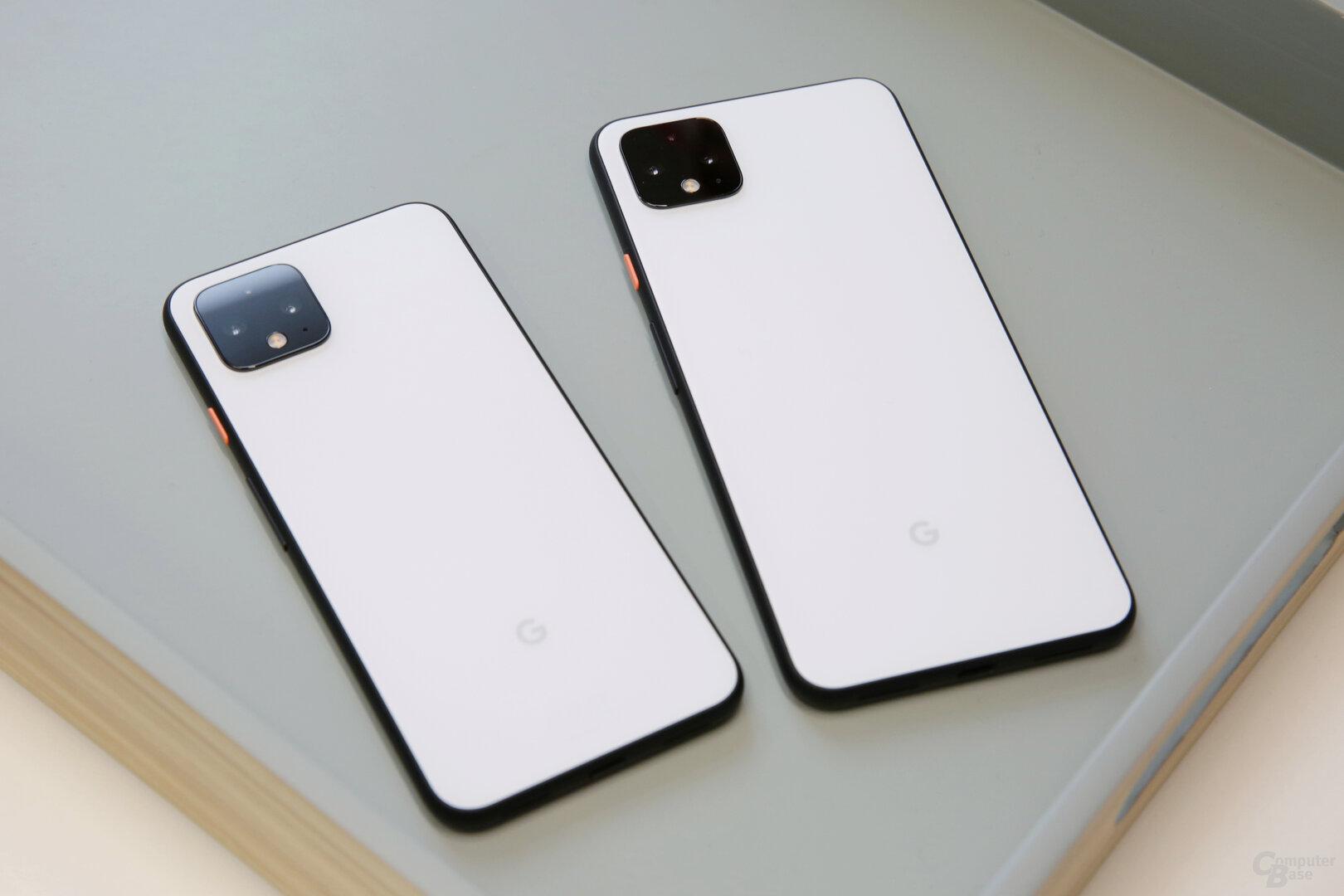 Pixel 4 und Pixel 4 XL kommen erneut in zwei Größen