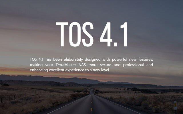 TerraMaster TOS 4.1