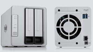 Günstige Netzwerkspeicher: TerraMaster setzt beim F2-210 auf ein SoC von Realtek
