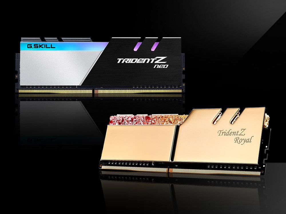G.Skill Trident Z Neo und Trident Z Royal für HEDT-Plattformen