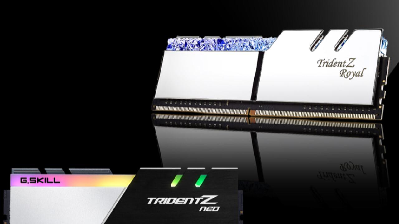 DIMMs mit 32 GB: G.Skill bereitet Marktstart von 4er-Kits bis DDR4-4000 vor