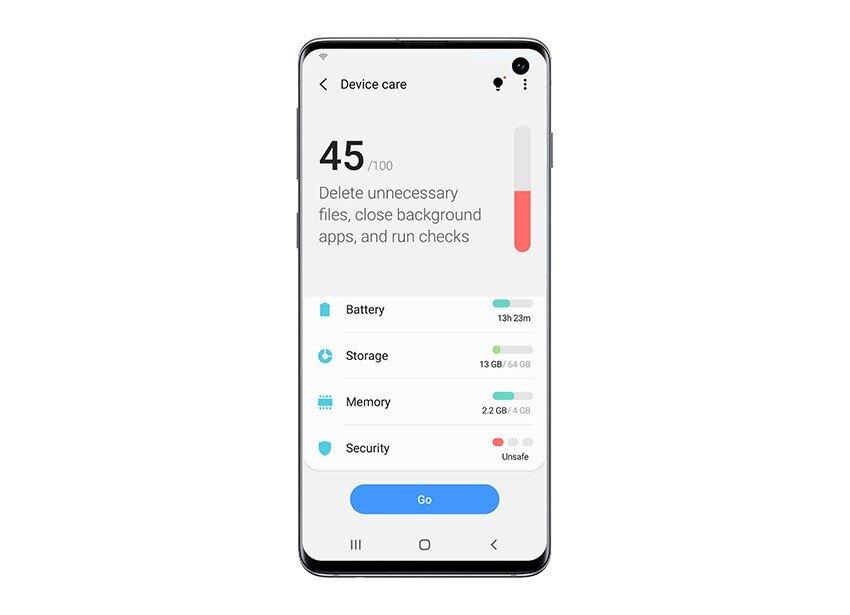 Android 10 mit One UI 2 als Beta für das Galaxy S10