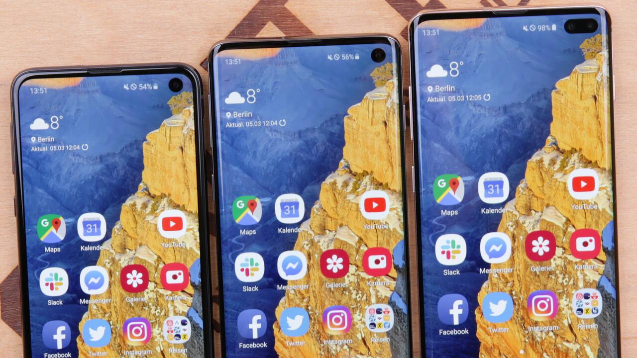 One UI 2: Android 10 auf Galaxy S10e, S10 und S10+ ausprobieren