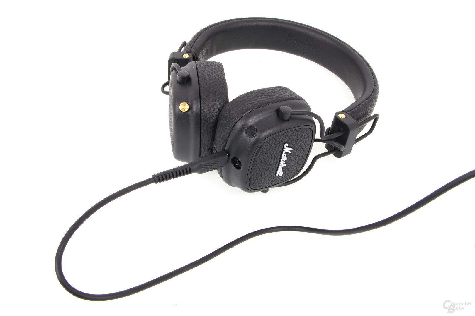 Marshall Major III Voice: Aufladen über MIcro-USB