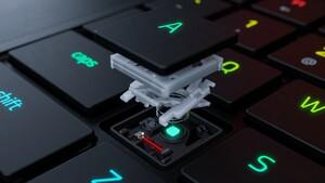 Razer Blade 15 Laptop: Mechanische Taster werden extrem flach