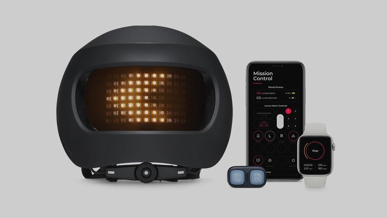 Lumos Matrix: Futuristischer Fahrradhelm im Apple Store erhältlich