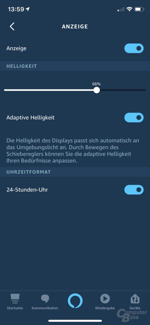 Neue Optionen für den Echo Dot mit Uhr