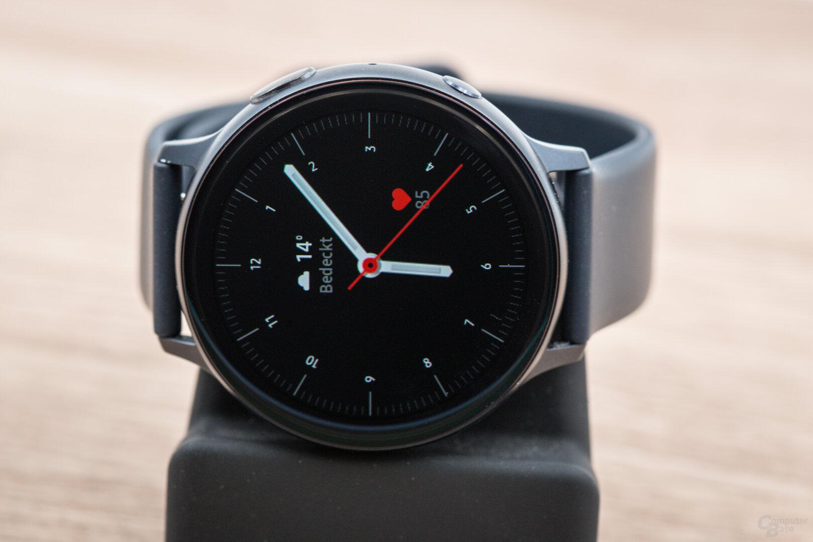 Samsung Galaxy Watch Active 2: Displayansicht