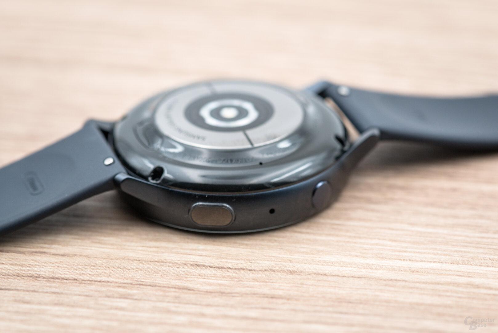 Samsung Galaxy Watch Active 2: seitliche Bedienknöpfe