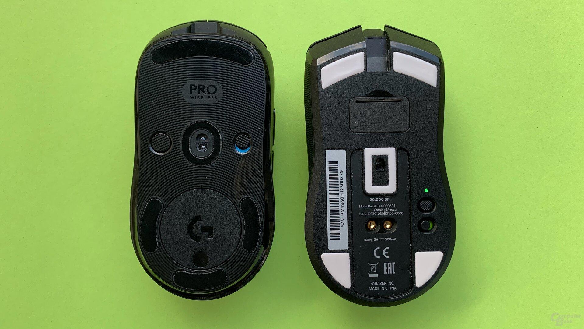 G Pro Wireless & Razer Viper Ultimate
