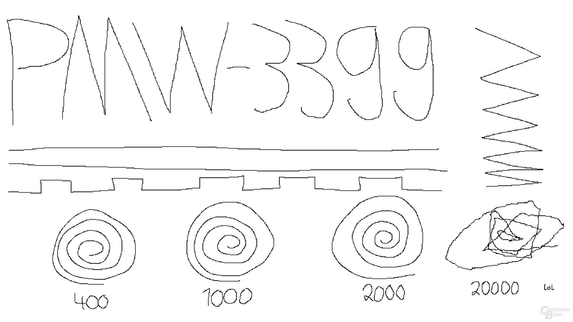 Razer Focus+ / PixArt PMW-3399 (1.000 Hertz, Mikrofaseruntergrund)