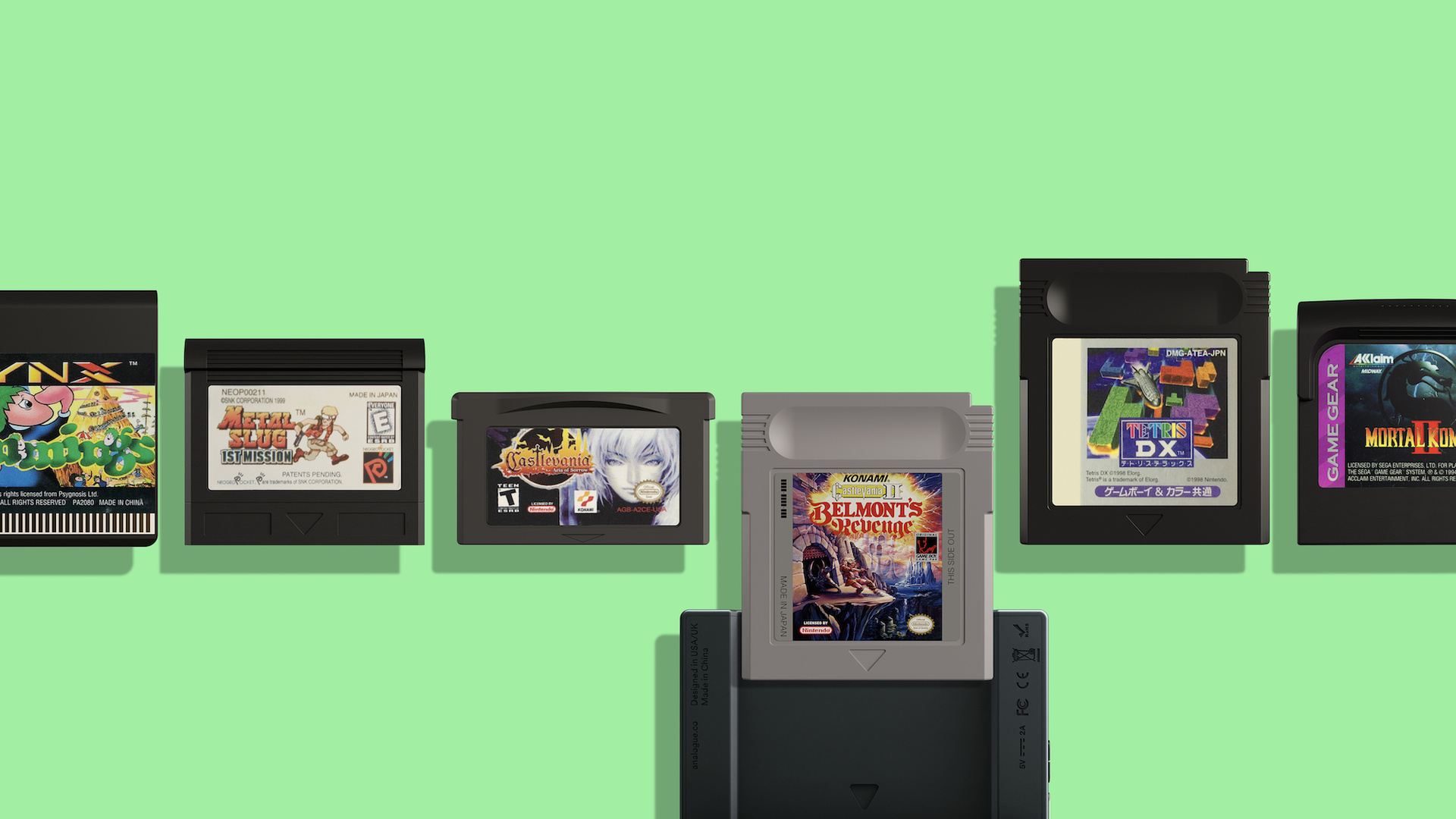 Der Analogue Pocket soll alleine von Nintendo mehr als 2.750 Spiele abspielen.