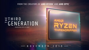 AMD Ryzen Threadripper 3000: Drei Modelle ab dem 5. November