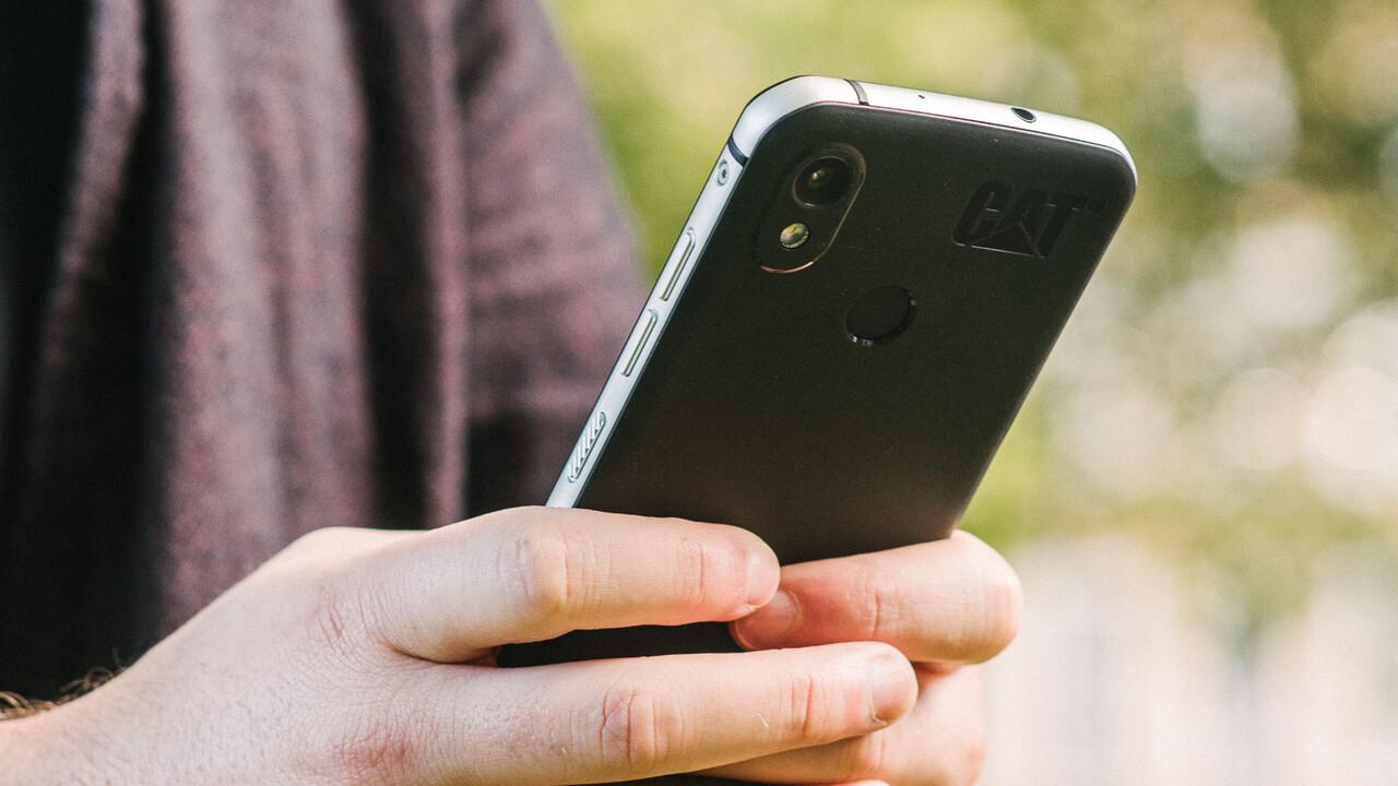 Cat S52: Dünnstes Outdoor-Smartphone setzt auf iPhone-Design
