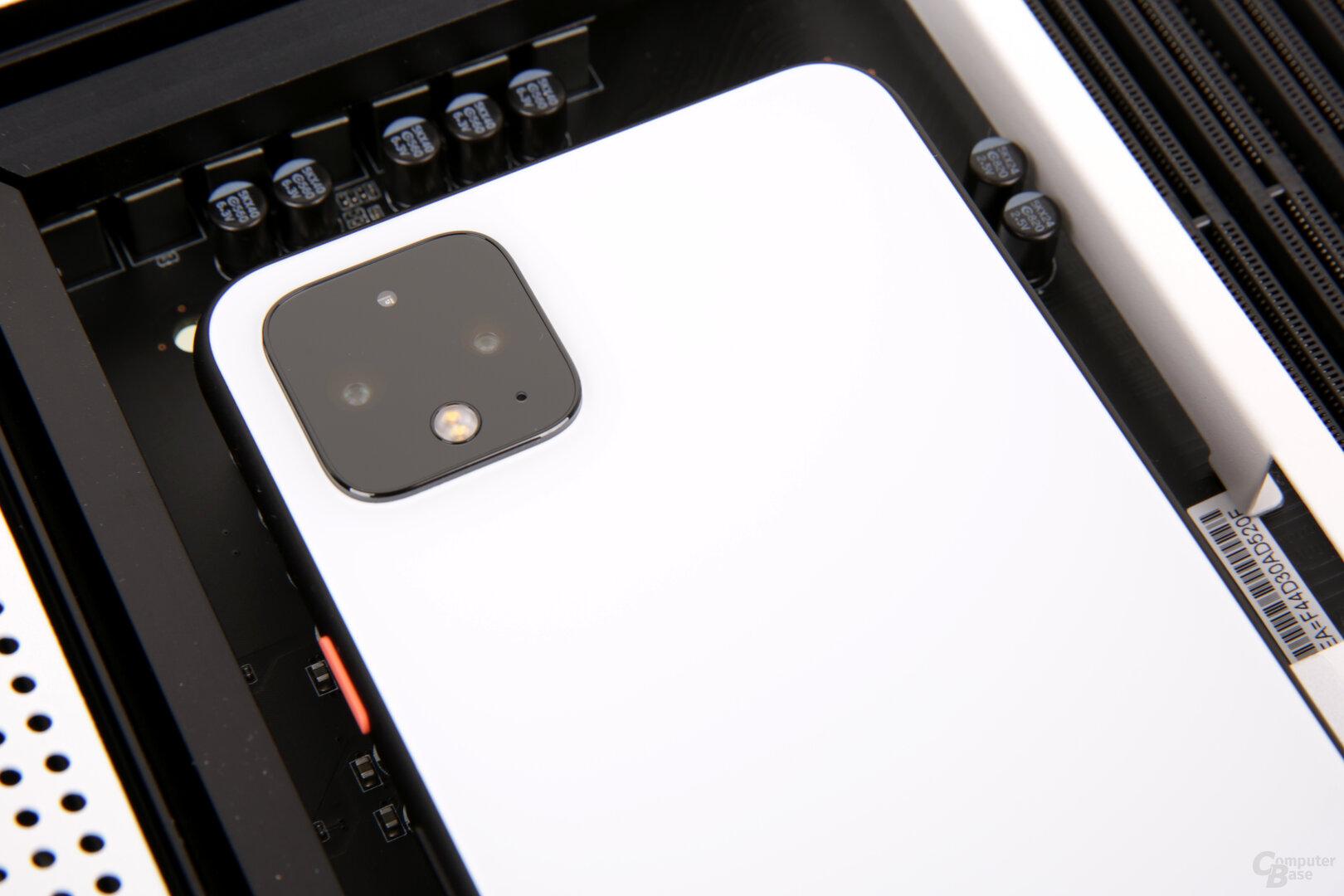 Neue Dual-Kamera mit Teleobjektiv