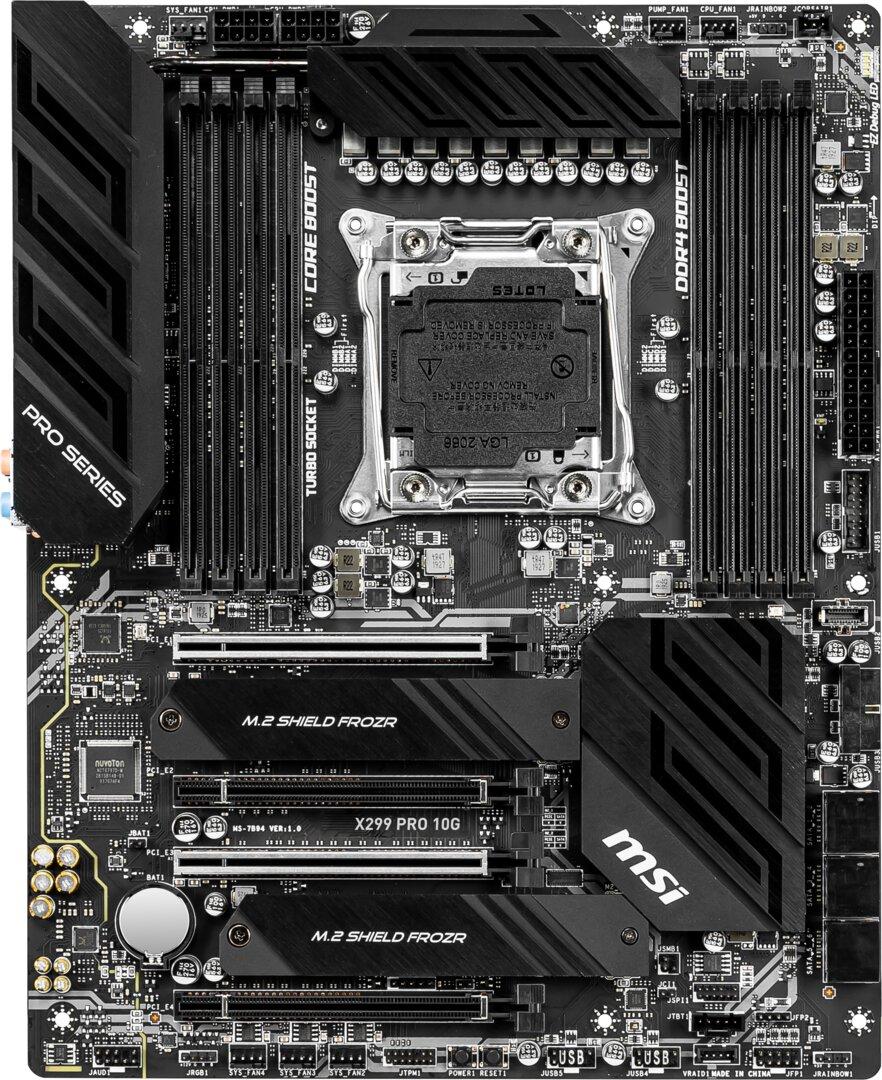MSI X299 Pro 10G