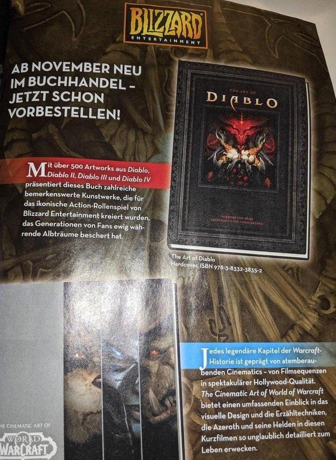 Anzeigentext nennt Diablo IV
