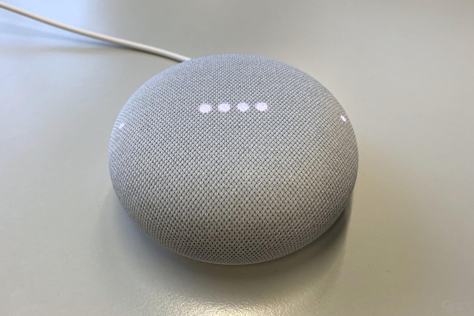 LEDs des Google Nest Mini