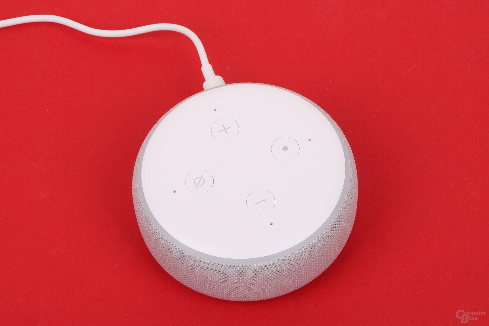 Amazon Echo Dot mit Uhr