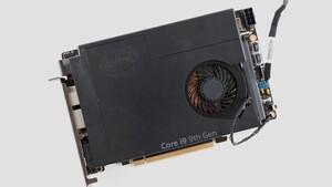 Intel NUC 9 Extreme: Bei Ghost Canyon wird das Mainboard zur PCIe-Karte