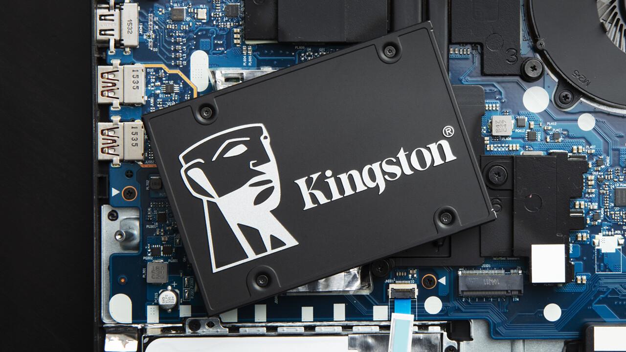 Kingston KC600: SATA-SSD mit Verschlüsselung und 5Jahren Garantie