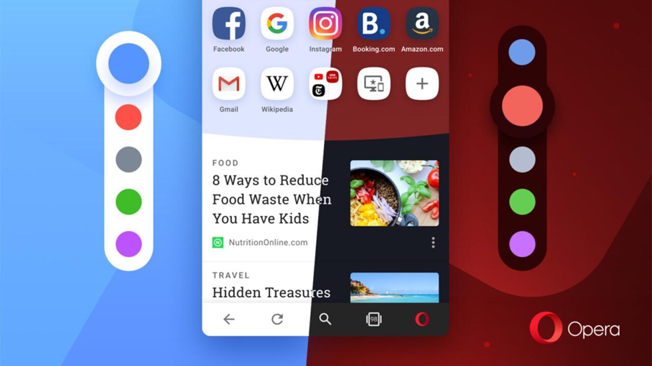 Opera für Android: Mit Version 54 wird's bunt im Browser