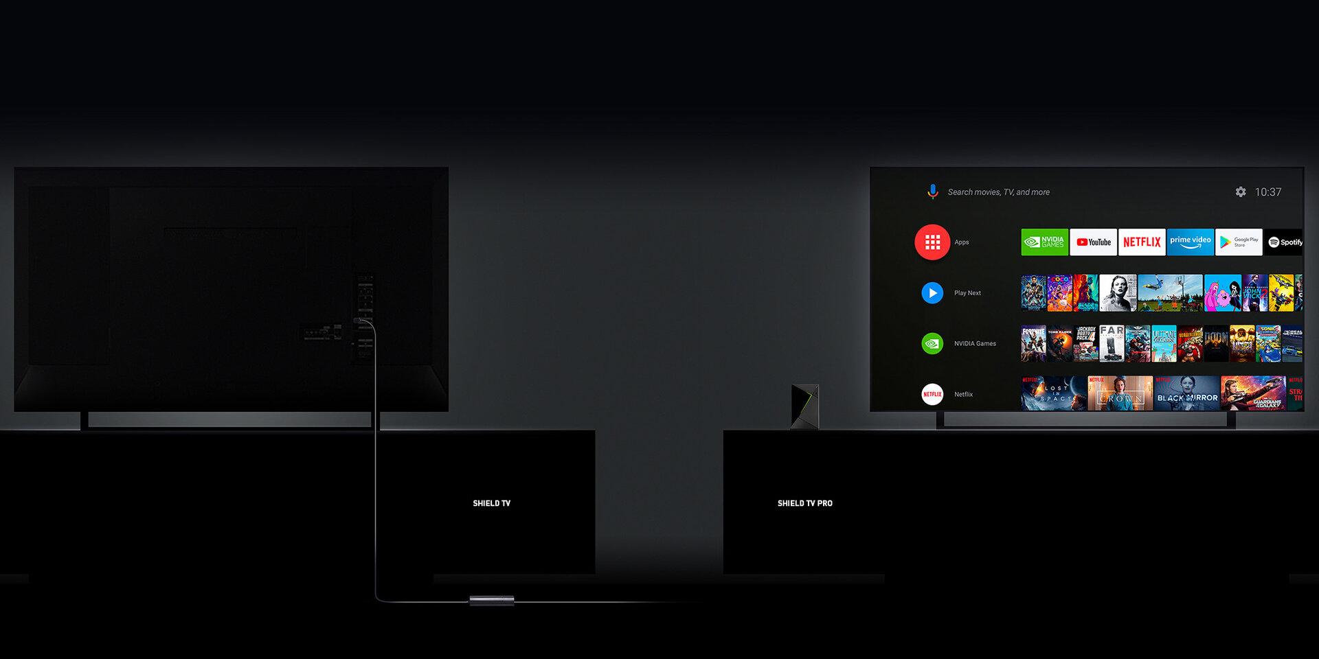 Shield TV und Shield TV Pro im Vergleich