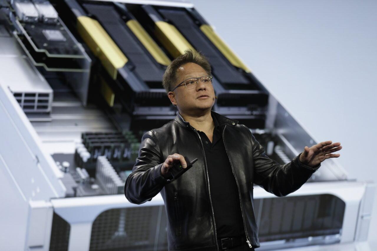 Jensen Huang zeigt EGX in Kooperation mit Ericsson zum MWC Los Angeles
