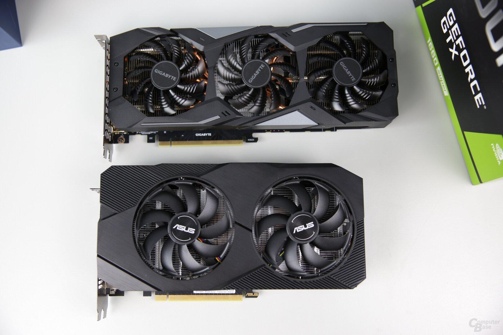 GeForce GTX 1660 Super Gaming OC vs. GeForce GTX 1660 Super Dual Evo OC