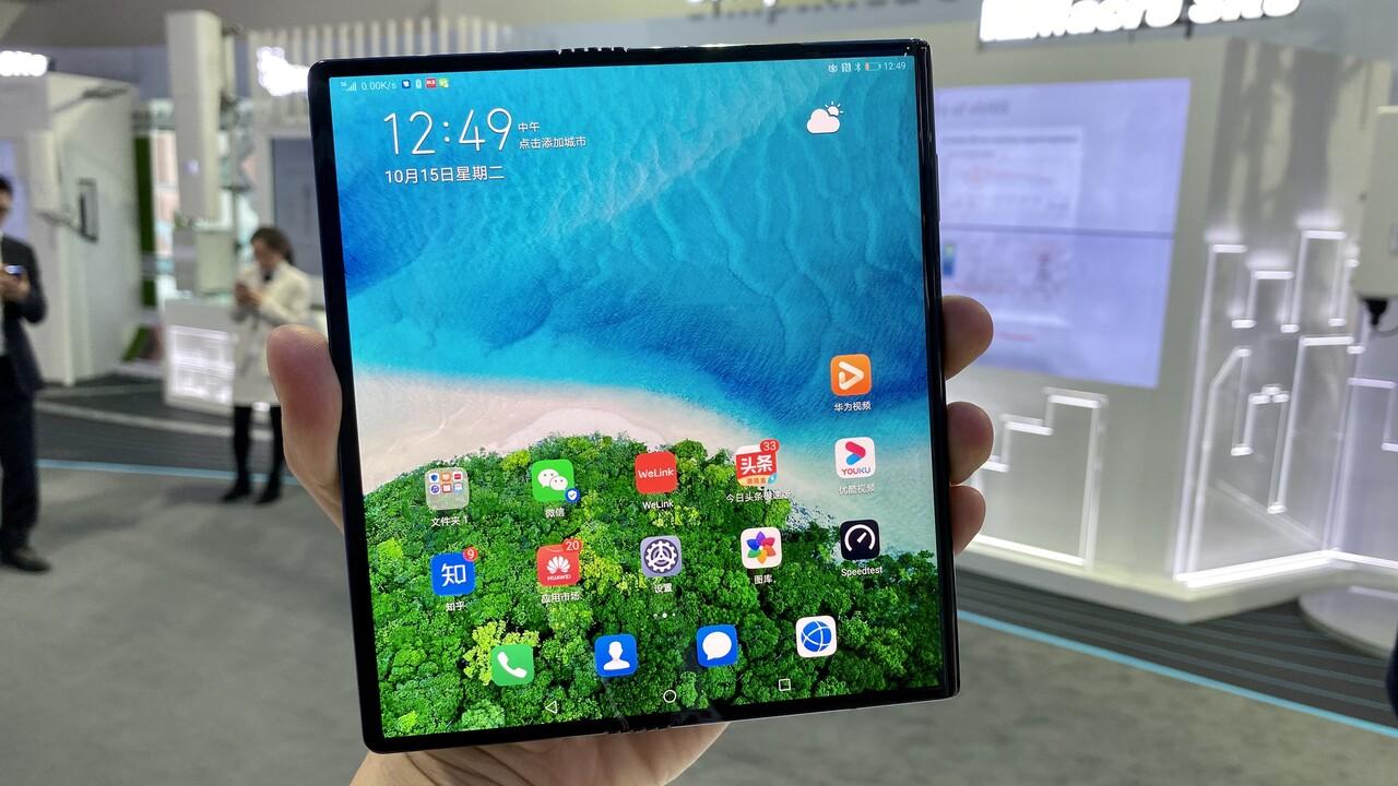 Falt-Smartphone: Huawei Mate X startet für 2.200Euro in China