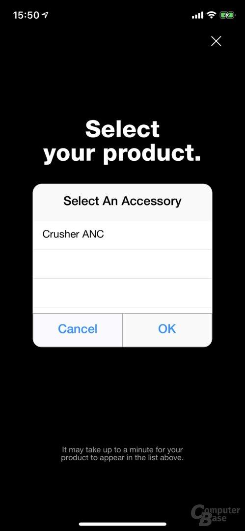 Skullcandy-App für den Crusher ANC