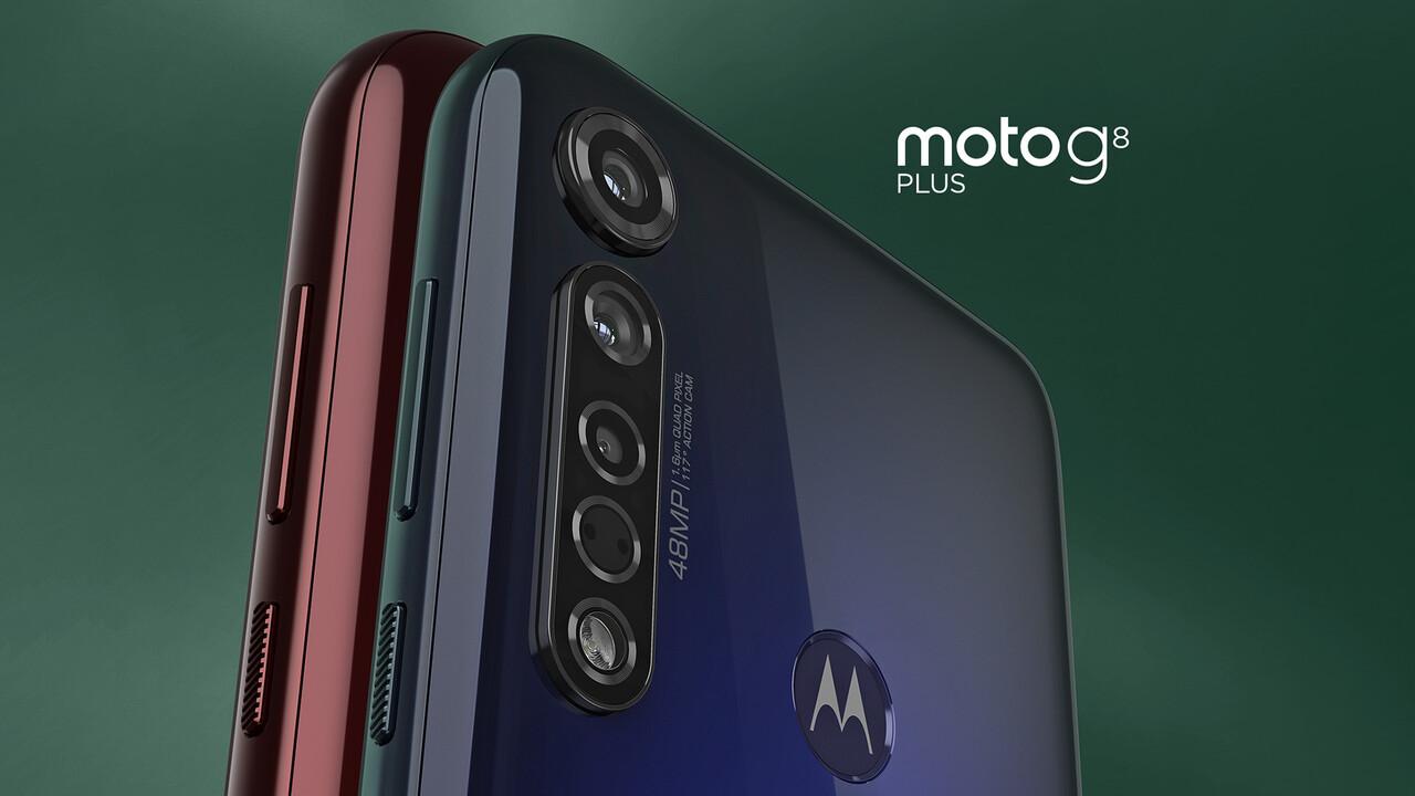Motorola: Moto G8 Plus, One Macro und E6 Play für die Mittelklasse