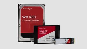 NAS-Datenträger: WD Red neuerdings als SSD oder mit 14 TB als HDD