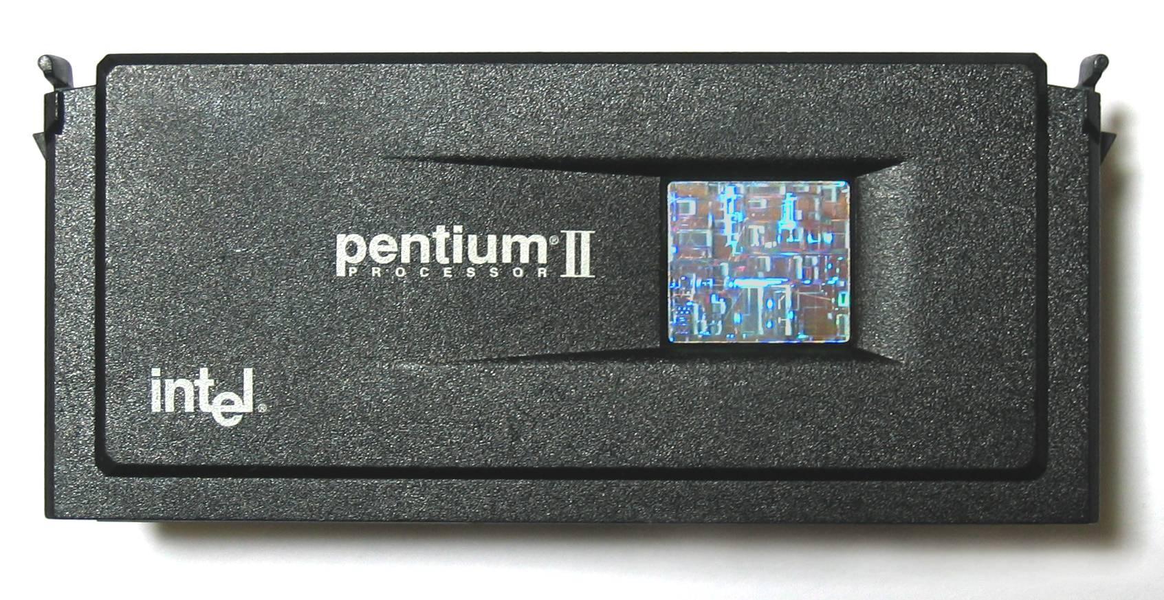 Intel Pentium II (Deschutes) mit 350 MHz und externem Cache