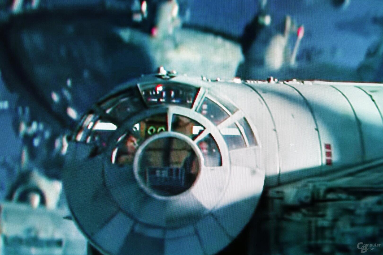 Szene aus Star Wars IX Trailer: Standard-Upscaling