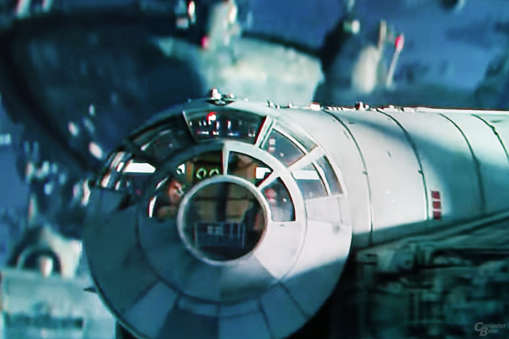 Szene aus Star Wars IX Trailer: KI-Upscaling